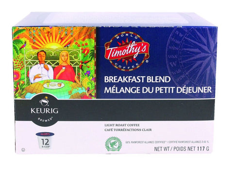 Timothy's Breakfast Blend Coffee
