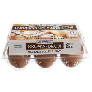 Burnbrae Farms Grade, Brown Eggs, Large