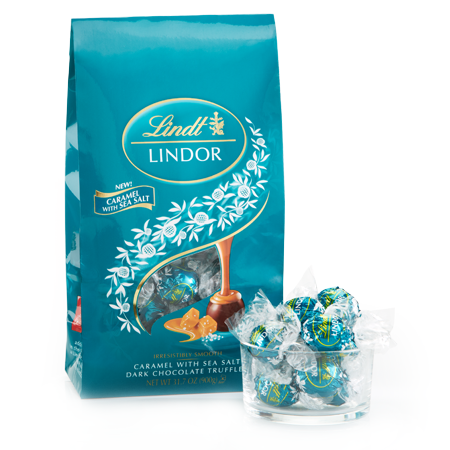Lindor Lindt Caramel Sea Salt Chocolate Pack