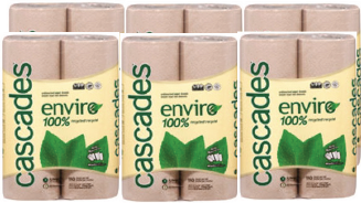Cascades Drying Paper Rolls