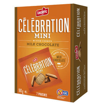 Leclerc Celebration Mini Packs Milk Chocolate