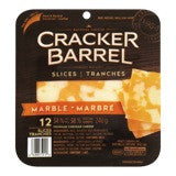 Cracker Barrel Cheese Slices Marble