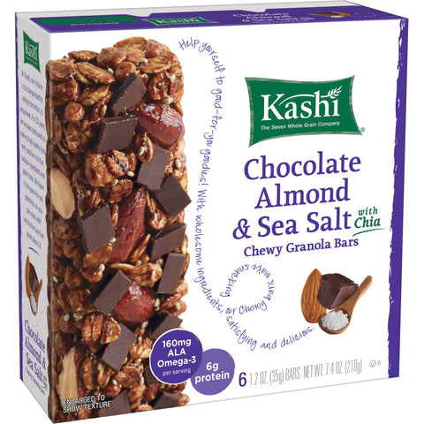 Kashi Chia Dart Chocolate Almond and Seat Salt Granola Bars