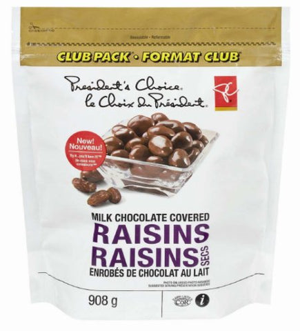 PC Brand Chocolate Covered Raisins