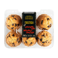 Farmer's Market Chocolate Chip Muffins