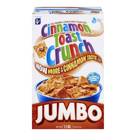 General Mills Cinnamon Toast Crunch Cereal Jumbo