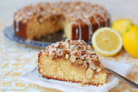 Oakrun Farm Lemon Greek Coffee Cake