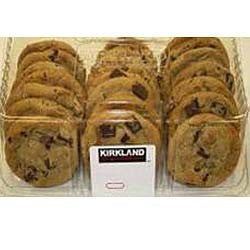Kirkland Chocolate Chip Cookies