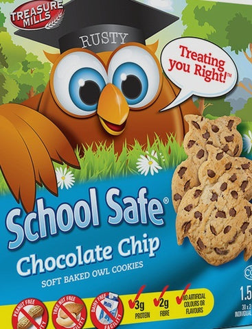 SchoolSafe Chocolate Chip Cookies