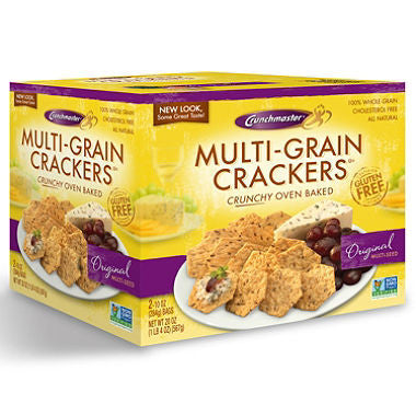Crunchmaster Multi Grains Crackers Gluten Free