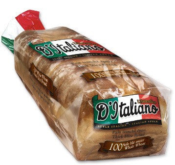 D'italiano Whole Wheat Flat Bread