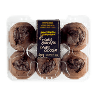 Farmer's Market Double Chocolate Muffins