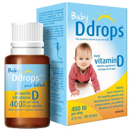 Vitamin D Drops for Babies