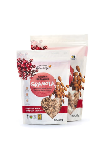 Grandma Emily Organic Granola with Almonds