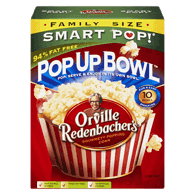 Smart Pop Corn Orville Family Size