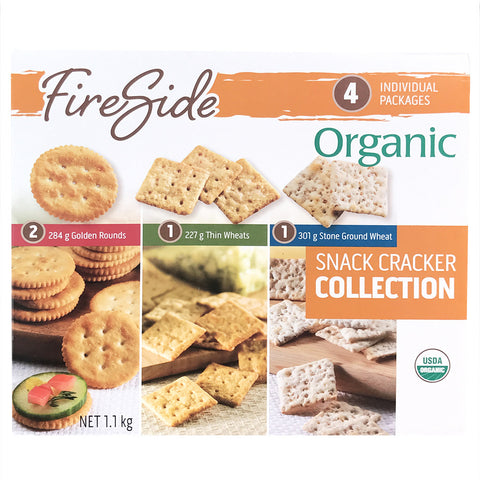 Fireside Variety Pack of Organic Crackers