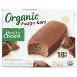 Organic Fudge Bars Ice Cream