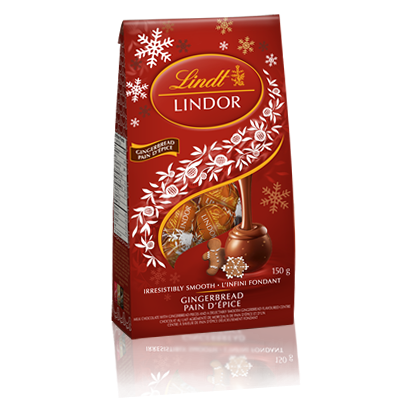 Lindor Lindt Gingerbread Chocolate Pack