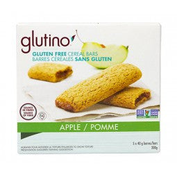 Glutino Apple Cereal Bars