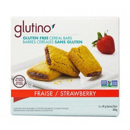 Glutino Strawberry Cereal Bars
