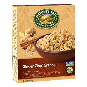 Nature's Path Cereal Ginger Zing Granola