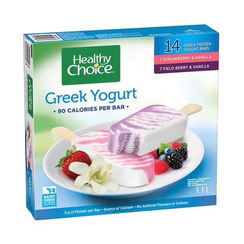 Healthy Choice Greek Yogurt Ice Cream Mix