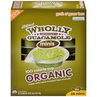 Mini Wholly Guacamole Organic Dip Packs