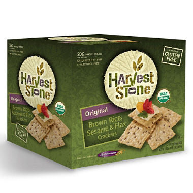 Harvest Stone Original Crackers Gluten Free