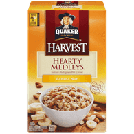 Quaker Oatmeal Hearty Medleys Banana Nut