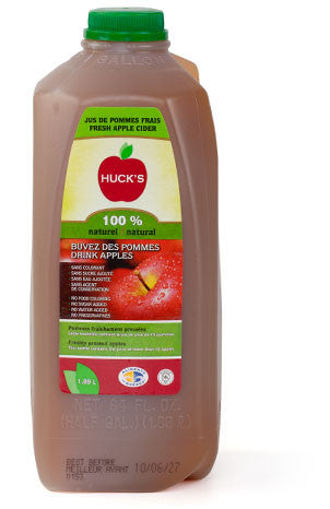Huck's Natural Apple Juice