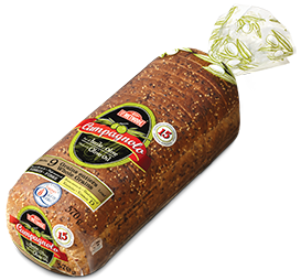 Campagnolo wheat bread  pack of 2