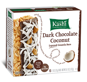 Kashi Chocolate and Coconut Bars