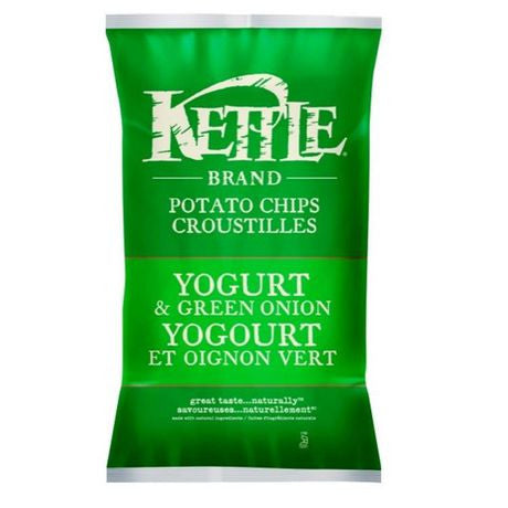 Kettle Chips yogurt and Green Onion