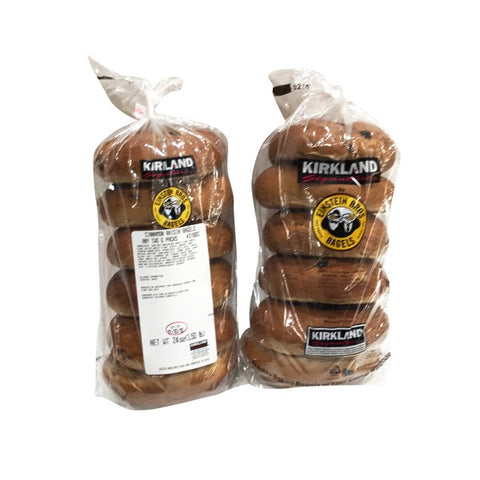 Cinnamon Raisin Bagels Pack
