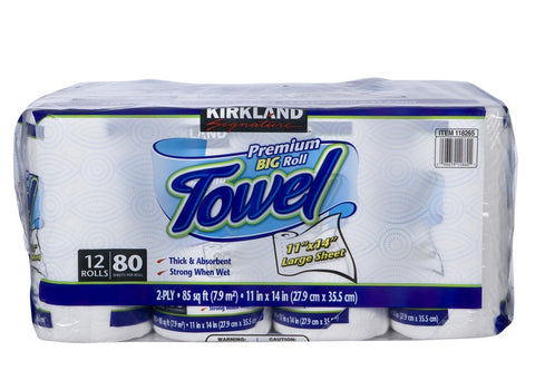 Kirkland Kitchen Paper Towels