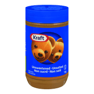 Kraft Peanut Butter Unsweetened - Unsalted