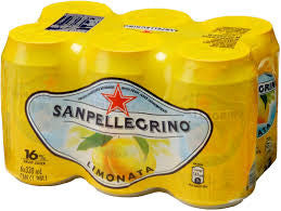 San Pellegrino Lemon Cans pack