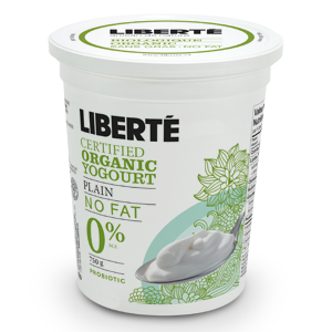 Liberte Organic Plain Yogurt No Fat 0%