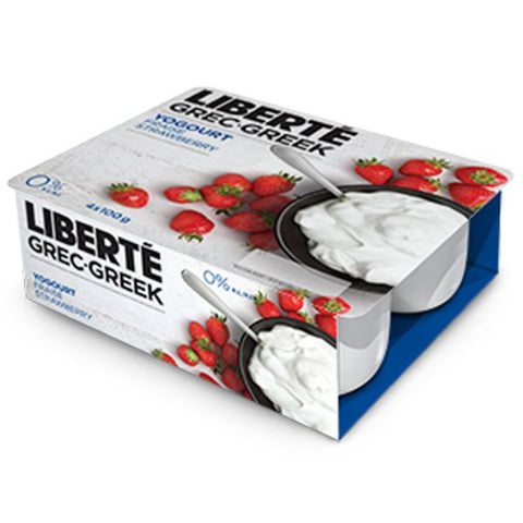 Liberté Greek Yoghurt Strawberry 0%