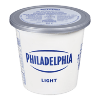 Philadelphia Light Cream Cheese Tub Large
