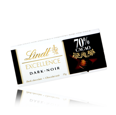 Lindt Dark Chocolate 70% Cacao Pack