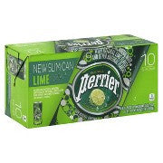 Perrier Slim Cans Lime