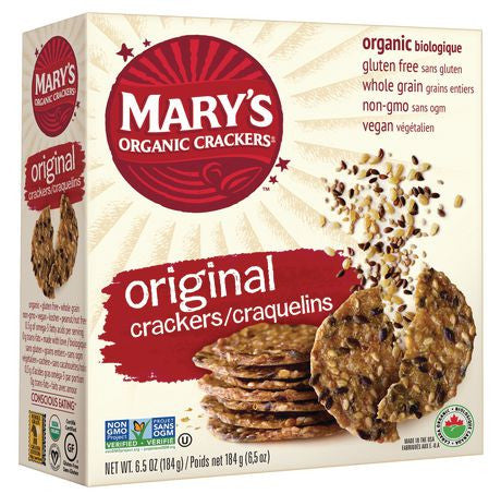 Mary's Gone Organic Crackers Gluten Free