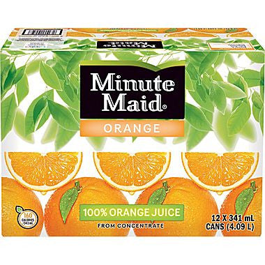 Minute Maid Orange Cans Pack