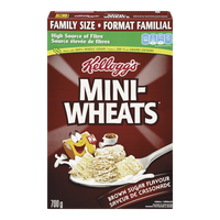 Kellogg's Mini Wheats Family Size