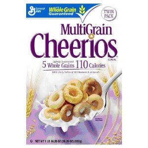 Cheerios Multigrain Twin Pack Cereal