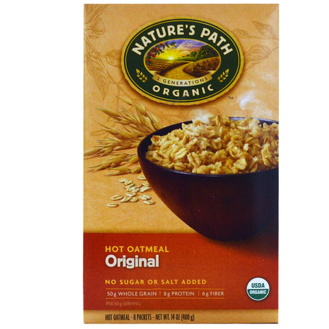 Nature's Path Oatmeal Packs No Sugar Added Original