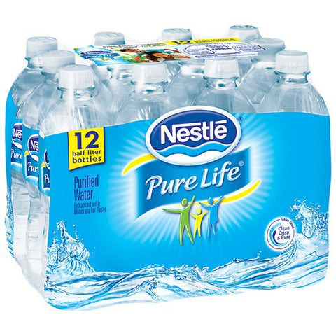 Nestle Pure Life Water Bottles