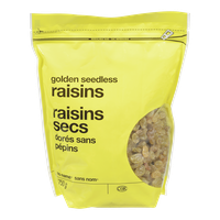 No Name Dry Golden Seedless Raisins