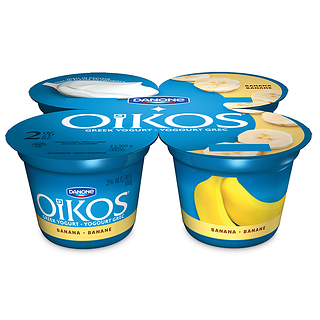 Oikos Greek 2% Yogurt Banana Pack